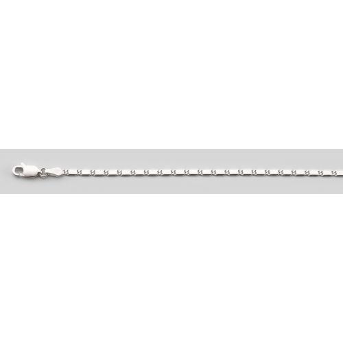 Lant din argint Snail 55cm