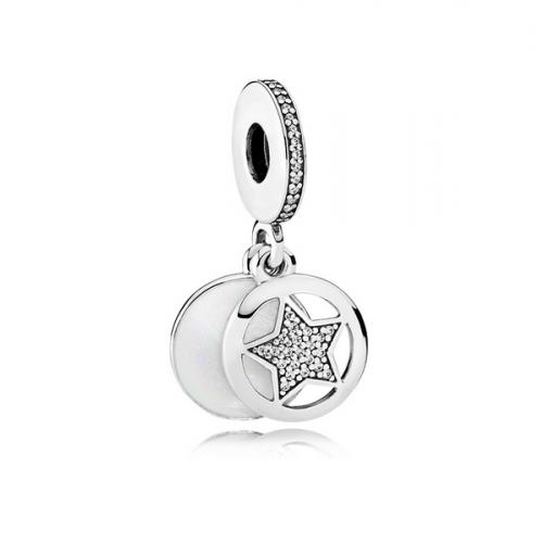 Talisman dublu din argint stea