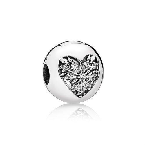 Talisman din argint 925 inima misterioasa