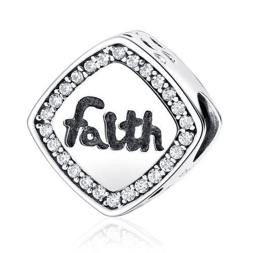Talisman din argint Faith