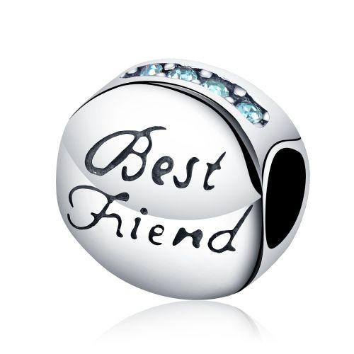 Talisman din argint best friend