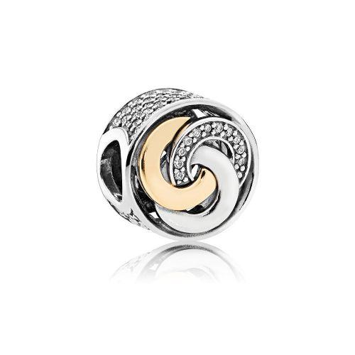 Talisman din argint spirala